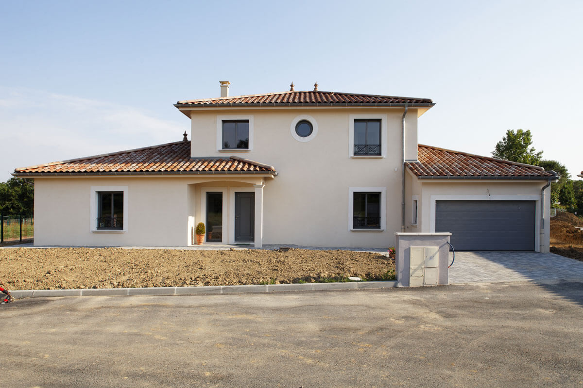 L'architecture classique d'une maison d'inviduelle