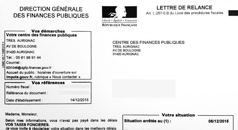 Paiement De La Taxe D Habitation Et De La Taxe Fonciere Echangimmo